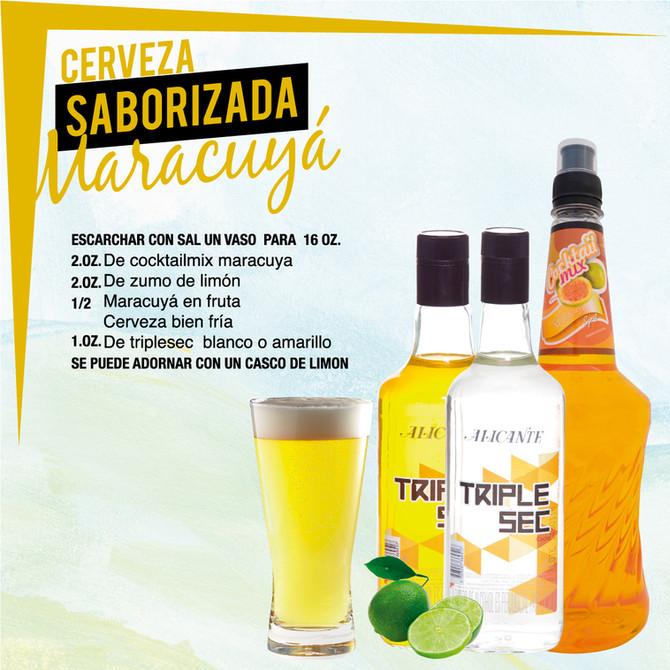Cerveza Saborizada Maracuyá