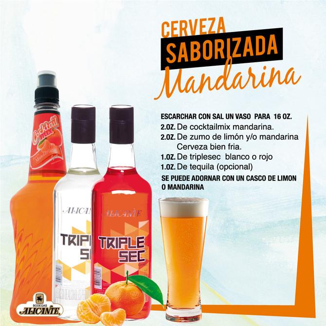 Cerveza Saborizada Mandarina