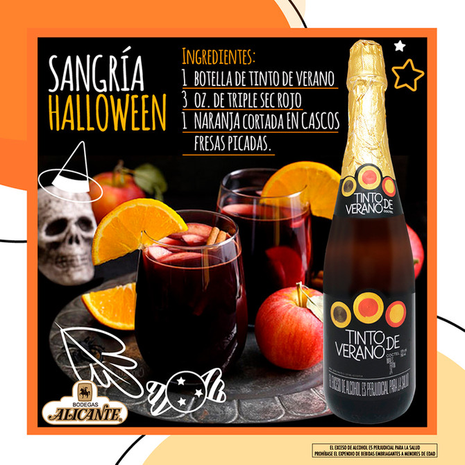 Sangría Halloween
