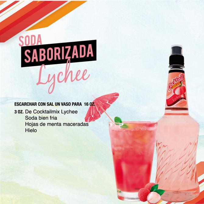 Soda Saborizada Lychee