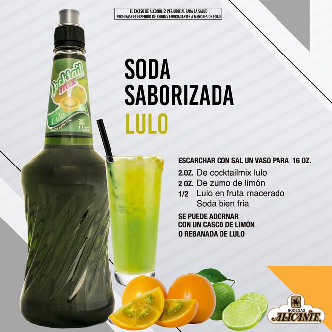 Soda Saborizada Lulo