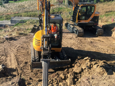 What are different excavation attachments used for?