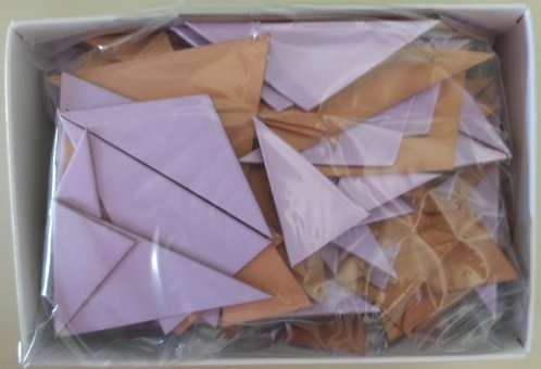ARTriangles purple and gold tile kits 190 pcs.