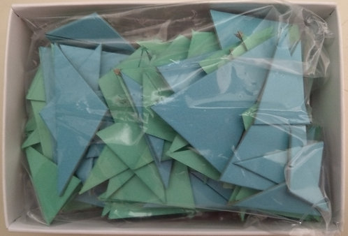 ARTriangles blue and green tile kits 190 pcs