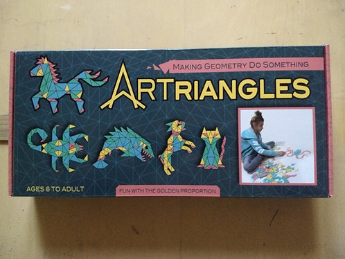 Six-color ARTriangles     570 pcs.