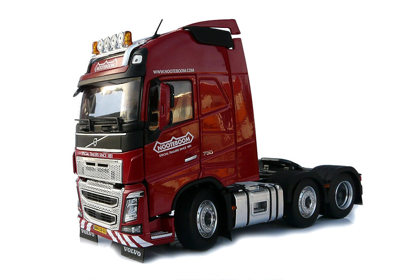Volvo FH16 6x2 red, Nooteboom edition