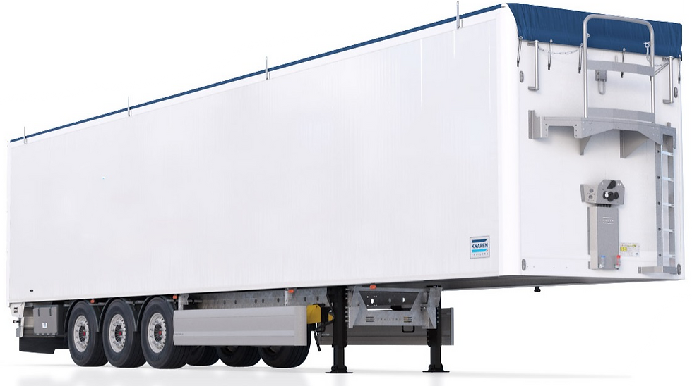 Knapen walking floor trailer (picture of real trailer)