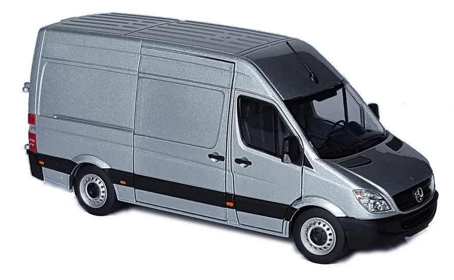 Mercedes-Benz Sprinter silver