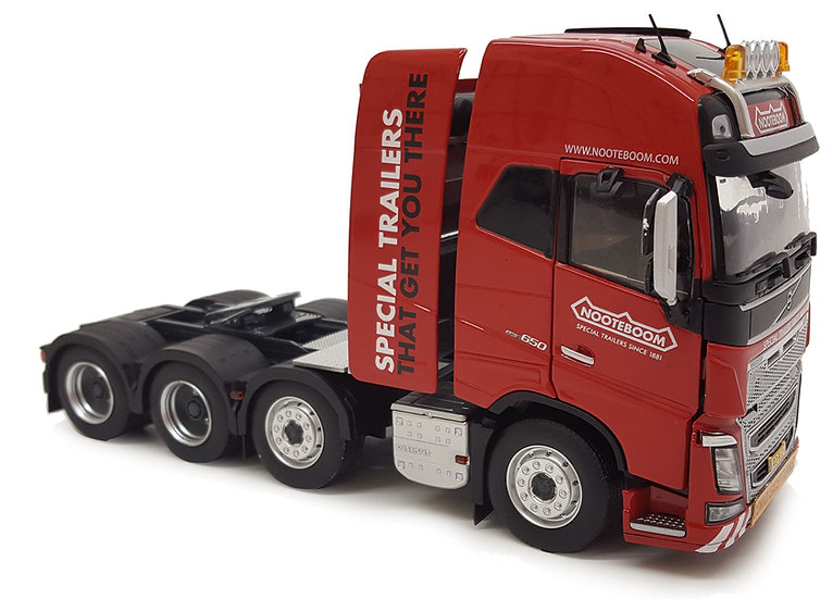 Volvo FH16 8x4 red Nooteboom edition