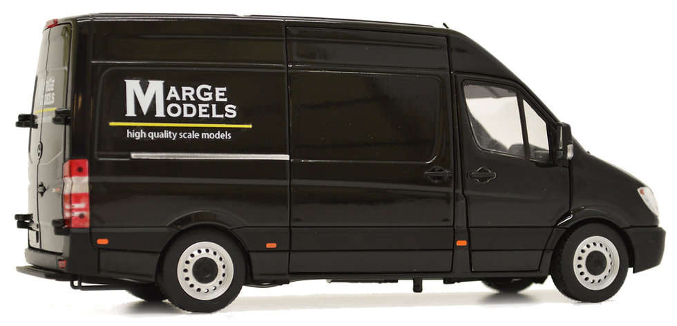 Mercedes-Benz Sprinter black, MarGe Models design