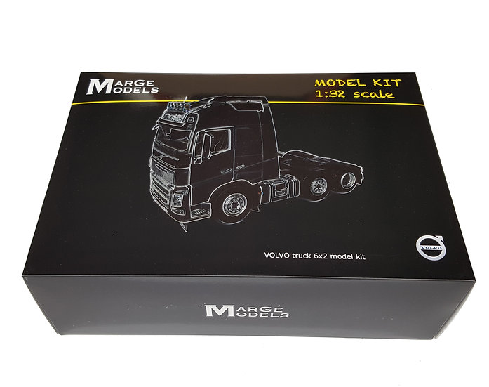 Volvo FH16 6x2 model kit