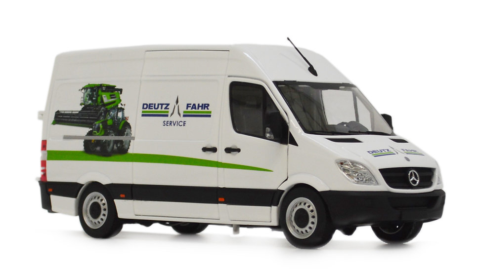 Mercedes-Benz Sprinter white Deutz design