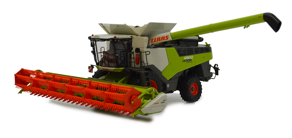 Claas Lexion 6900 with Vario 930
