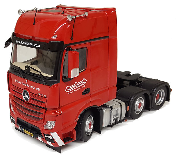 Mercedes-Benz Actros Nooteboom edition red