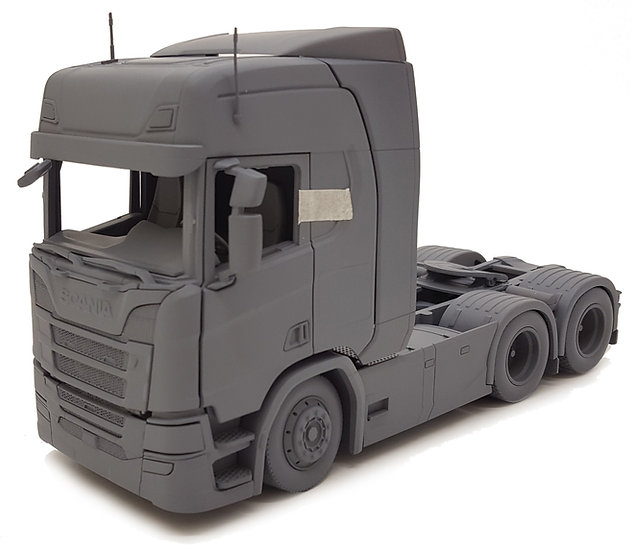 Scania R500 6x2 dark gray (prototype)