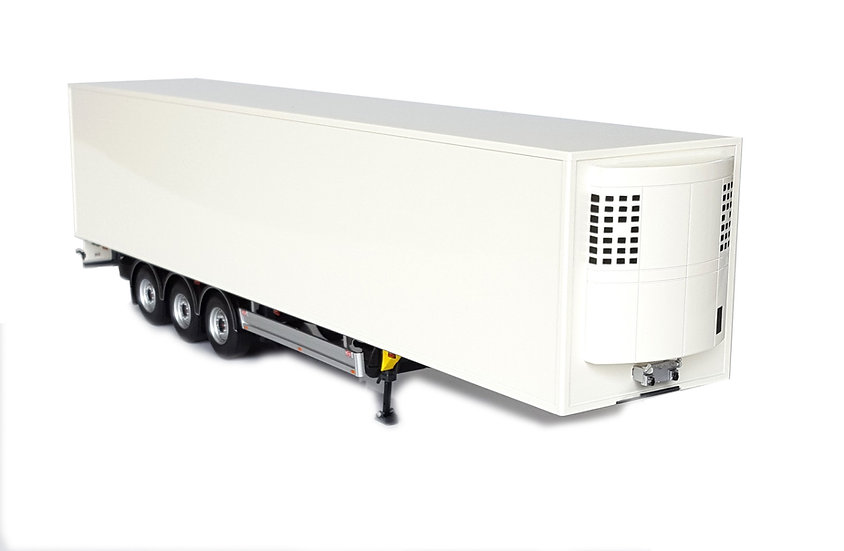 Pacton reefer trailer white