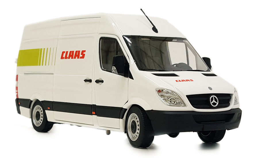 Mercedes-Benz Sprinter white Claas design
