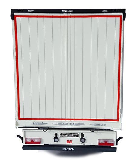 Pacton curtainsider trailer white