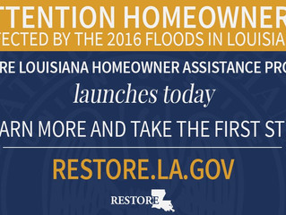 RESTORE Survey for Homeowner Assistance Begins April 10