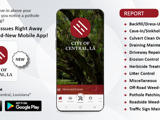 Download our City App on your smartphone