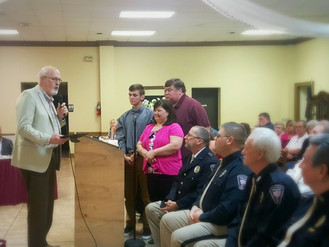 Central City Council names local hero, Daniel Wesley, as 2016 Citizen of the Year, February 28 city