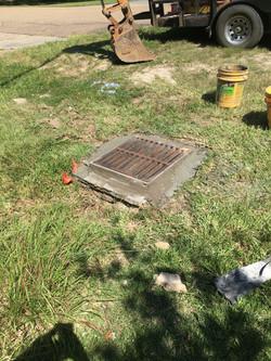 Drainage Repair Oak Cluster1