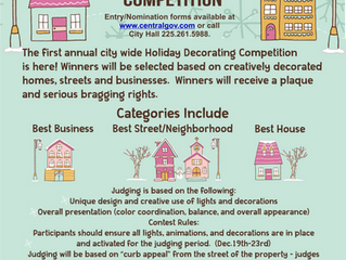 Christmas Decorations Contest