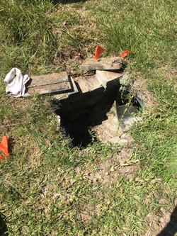 Drainage Repair Oak Cluster