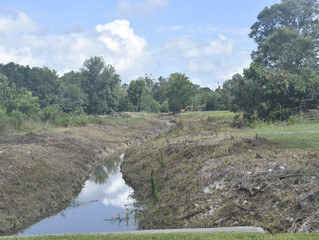 PHOTOS: Work continues to improve drainage around the city