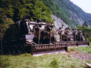 Artikelsammlung: Wissenswertes zum Entpannungspanzer 65 (Entp Pz 65) der Schweizer Armee