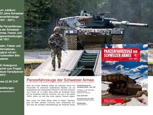NEU! Typenkompass Schweizer Panzerfahrzeuge seit 1921