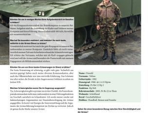 Herausforderungen im Spannungsfeld Beruf - Milizdienst
