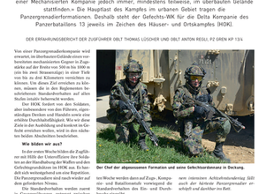Panzergrenadiere im Häuser- und Ortskampf