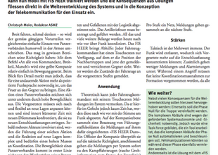 FIS HEER in der mobilen Anwendung: ein Prinzipversuch beim Pz Bat 29