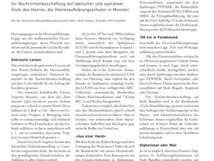 Aufklärer der Zukunft: Blick nach Deutschland