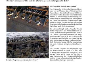 Krieg in der Ostukraine 2014/2015 (3/4): Die russo-seperatistische Winteroffensive 2015