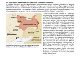Krieg in der Ostukraine 2014/2015 (2/4): Direktes Eingreifen von Russland im Spätsommer 2014