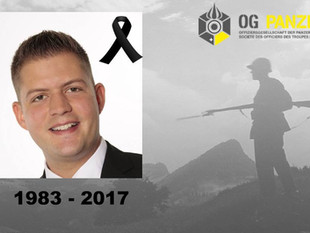 Trauer um Hauptmann Daniel Fuhrimann (1983-2017)