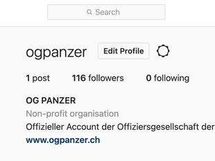 OG Panzer ab sofort live auf Instagram