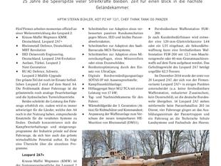 Die Zukunft des Leopard 2