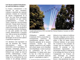 La France comme partenaire stratégique (1/2): La défense de la France