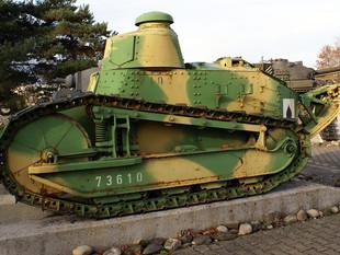 Artikelsammlung: Wissenswertes zum Renault FT (FT 17) der Schweizer Armee