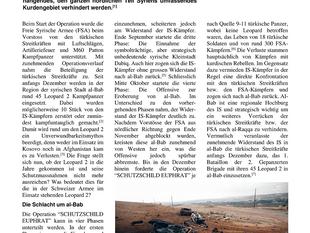 Im Kampf gegen den Islamischen Staat – Härtetest für den Leopard 2
