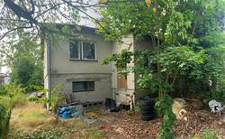 Wohnhausrohbau-Abriss