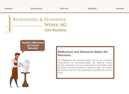 www.bsweberag.ch - unsere neue Webseite ist online!