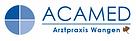 Logo ACAMED Arztpraxis Wangen mit Blatt.