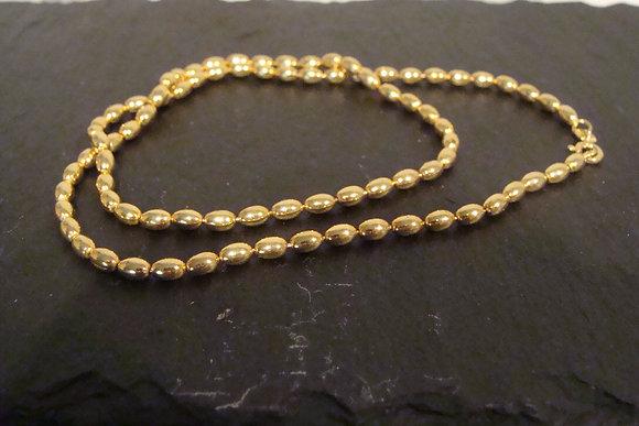 Halskette WUR Silber925 vergoldet