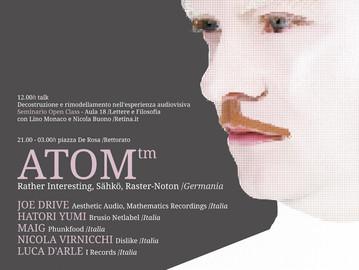 23.05.2013Flussi-event-ATOM-live-Univers