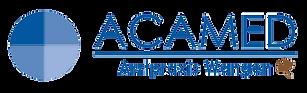 Logo ACAMED Arztpraxis Wangen mit Blatt_