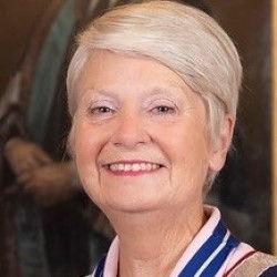 Plaisterers Master 2020 Margaret Coates.
